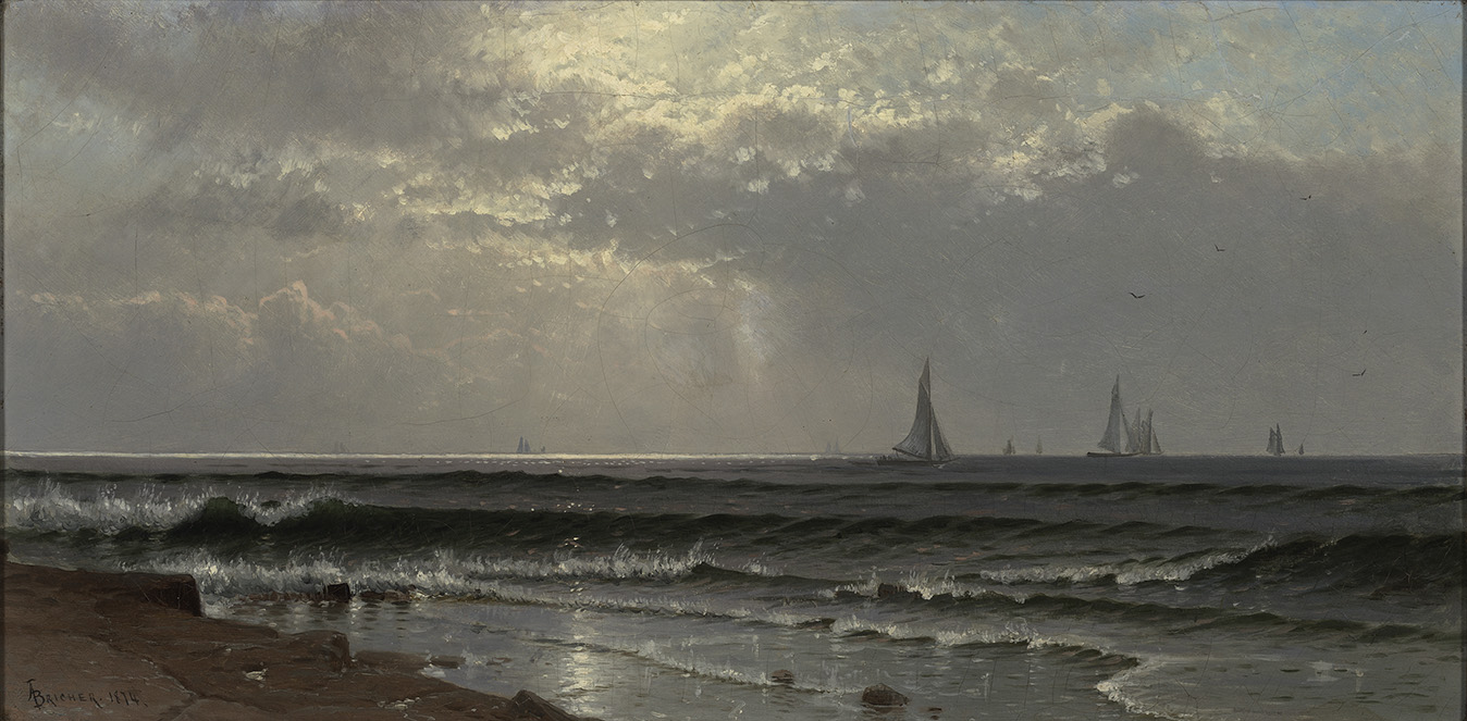Bricher, Seascape