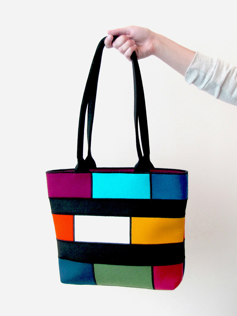 colorful bag available at the shop