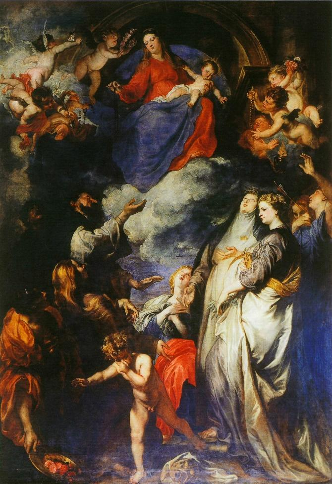 Anthony van Dyck, Madonna of the Rosary