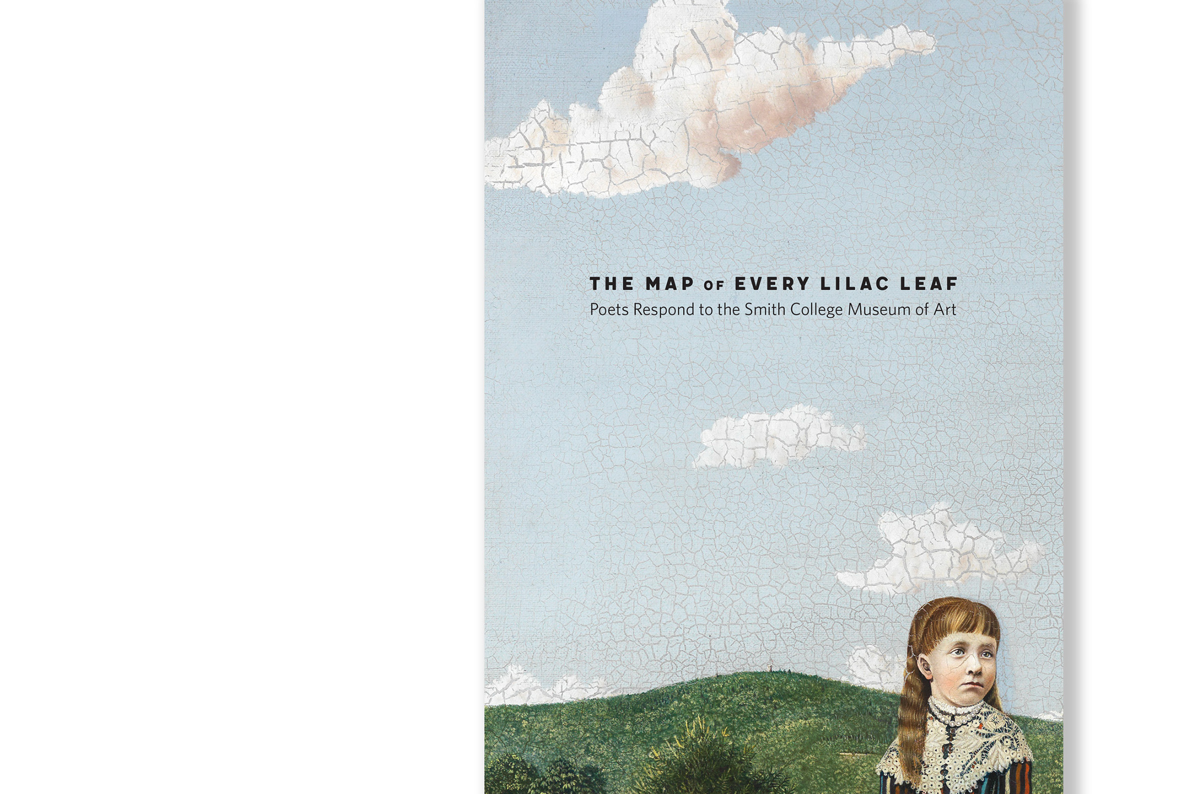 Book Cover image of painting detail of little girl and clouds